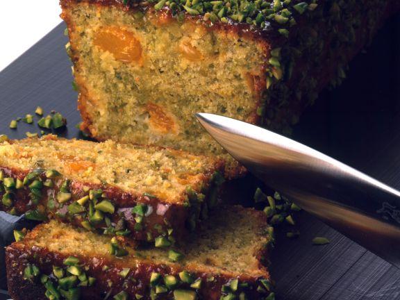 Pistazien-Mandarinen-Kuchen