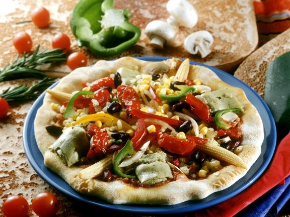 Pizza mexican style