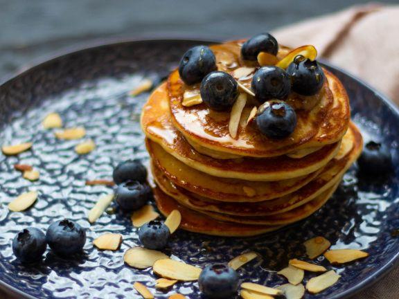 Protein-Pancakes mit Magerquark