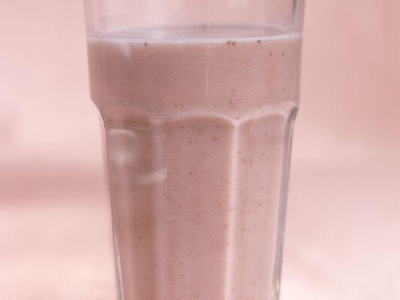 Proteinshake mit Beeren