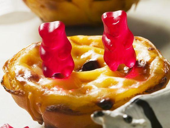Pudding-Torteletts