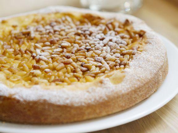 Puddingkuchen Mit Pinienkernen Rezept Eat Smarter