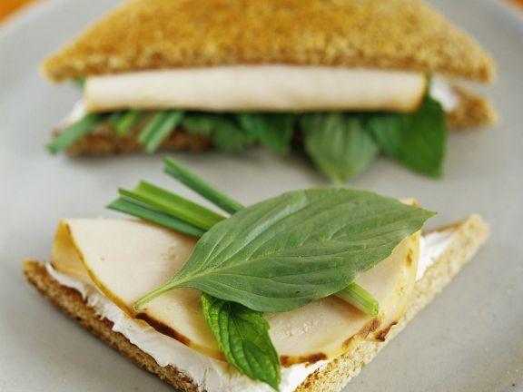 Puten-Sandwiches
