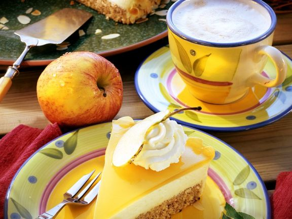 Apfel gelee torte