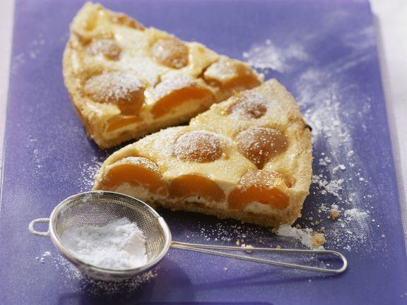 Quark-Aprikosen-Kuchen