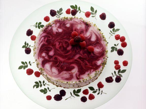 Quark-Beeren-Torte