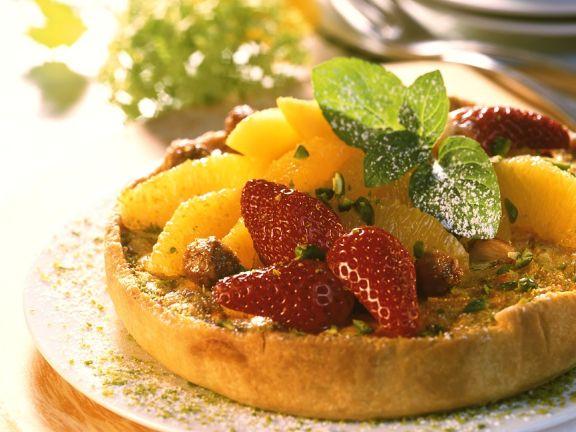 Quark-Früchtekuchen