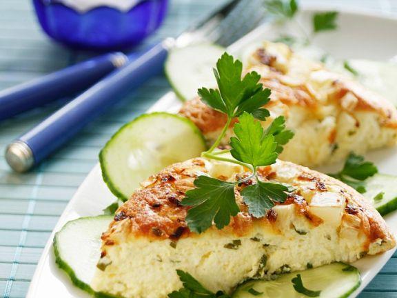 Quark-Tortilla mit Sellerie