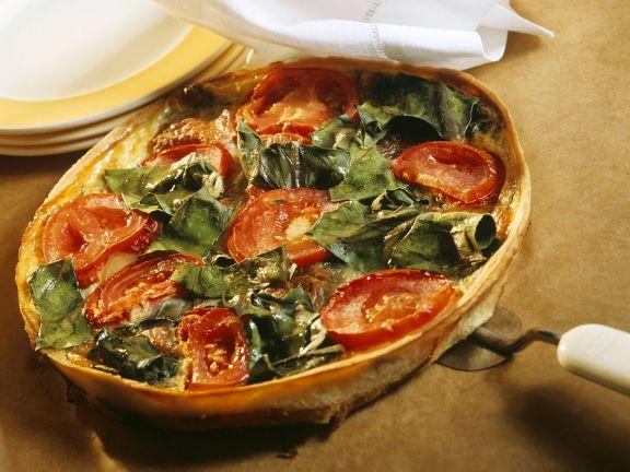 Quiche mit Gemüse