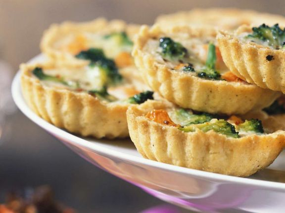 Quiches mit Broccoli
