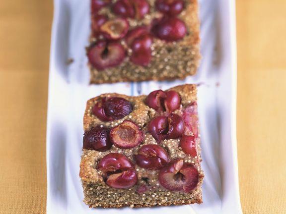 Quinoa Kuchen Mit Kirschen Rezept Eat Smarter