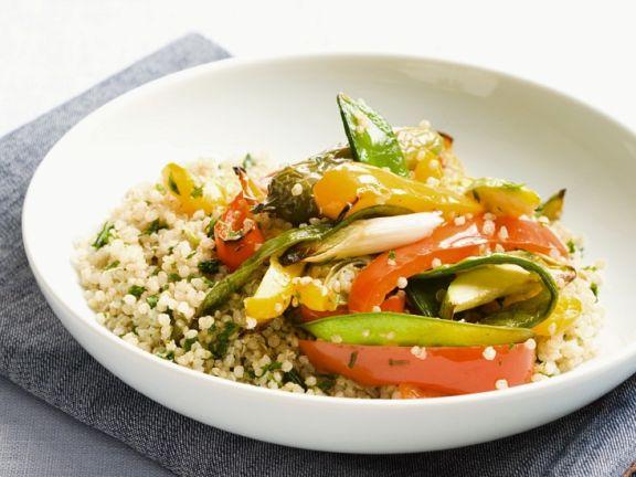 Quinoa mit Sommergemüse