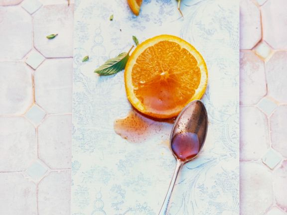 Quittenkonfitüre mit Orange