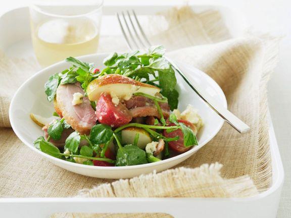 Radieschensalat mit Ente