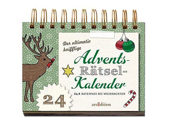 Rätsel Weihnachten Erwachsene.Adventskalender Für Erwachsene Eat Smarter