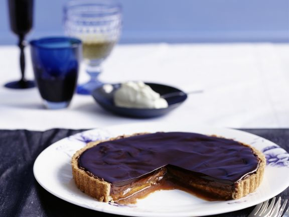 Raffinierte Schokoladentarte