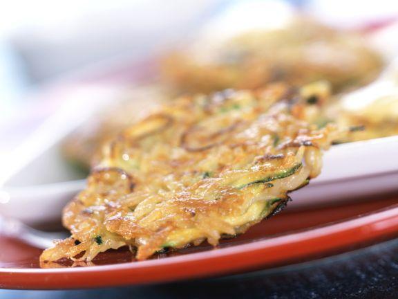 Reis-Gemüse-Puffer