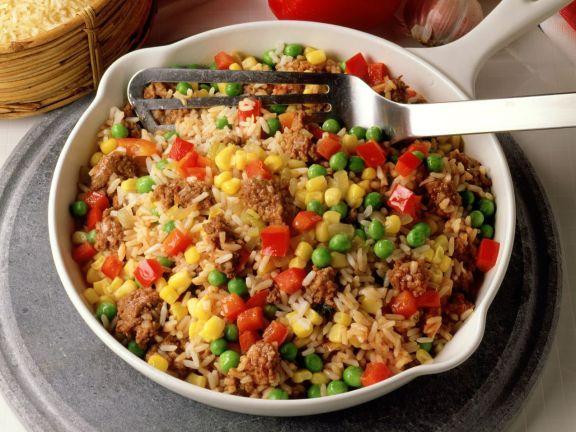 Reis Hackfleisch Pfanne Rezept Eat Smarter