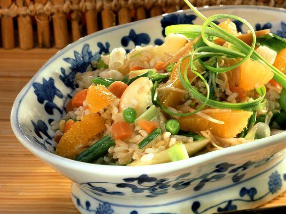 Reis mit Asia-Gemüse