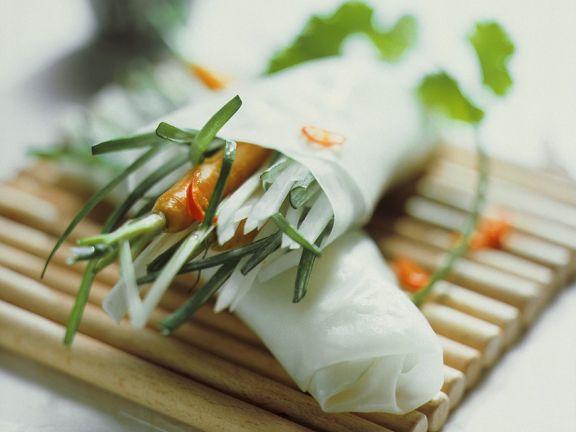 Reispapierröllchen