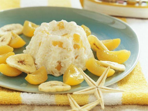 Reispudding mit Früchten