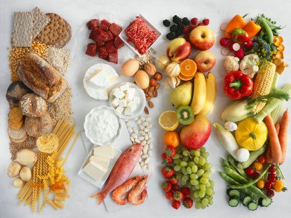 Diäten zum Abnehmen mit natürlichen Lebensmitteln