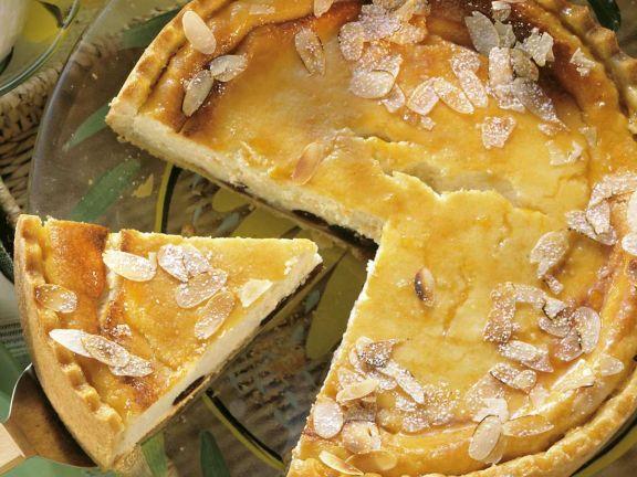 Ricotta-Kirschkuchen
