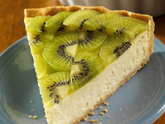 Ricotta-Kiwi-Kuchen