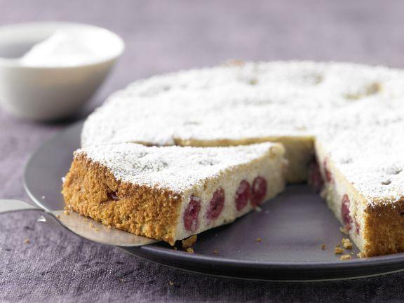 Ricotta Quark Kuchen Mit Kirschen Rezept Eat Smarter