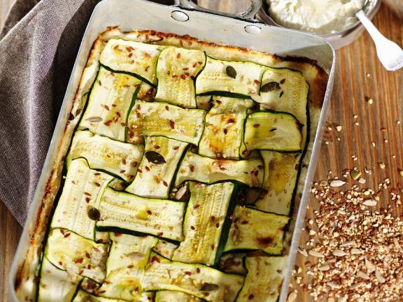 Ricotta-Zucchini-Auflauf