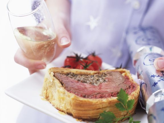 Rinderfilet in Blätterteig (Filet Wellington)