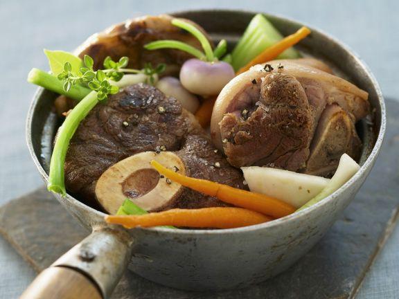 Rindfleisch-Eintopf mit Gemüse