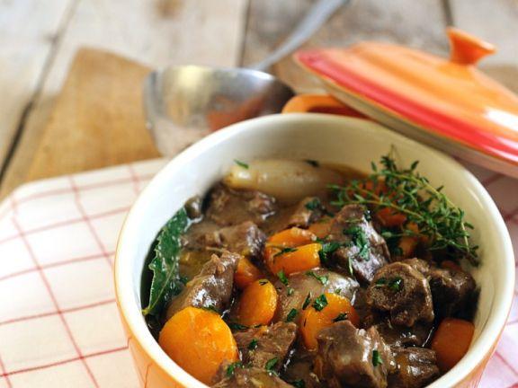 Rindfleisch-Gemüse-Topf