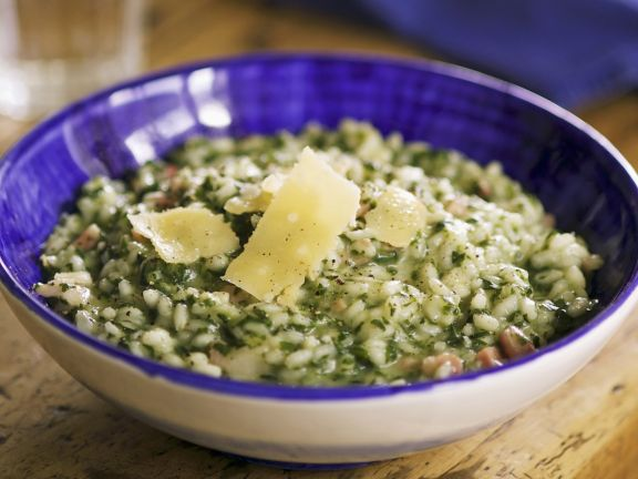 Risotto mit Spinat