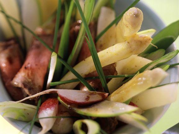 Roastbeef mit Spargelsalat