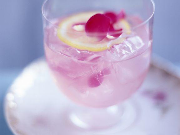 Rosen-Cocktail