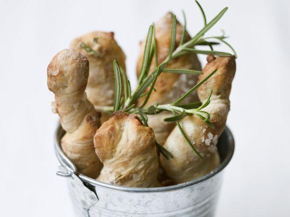Rosmarin-Brot mit Meersalz