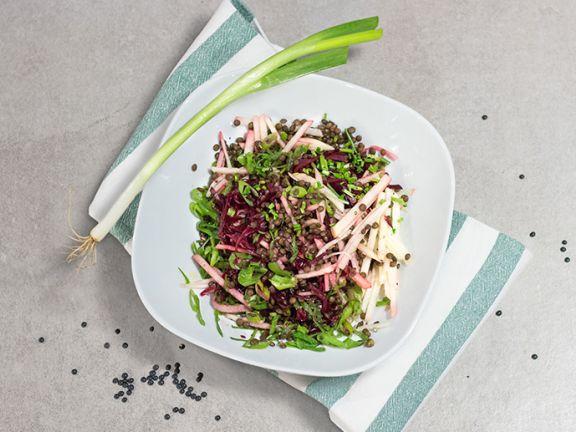 Rote-Bete-Linsen-Salat