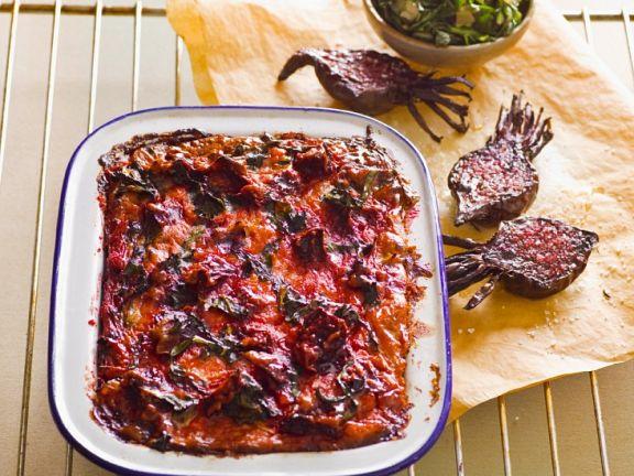 Rote Bete-Mangold-Kuchen