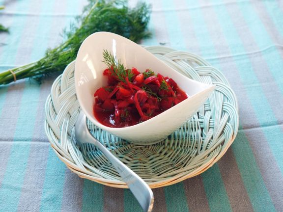 Rote Bete-Suppe