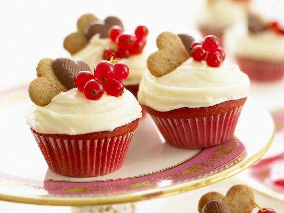 Rote Cupcakes