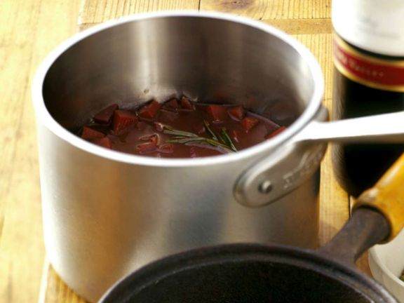 Rotweinsauce
