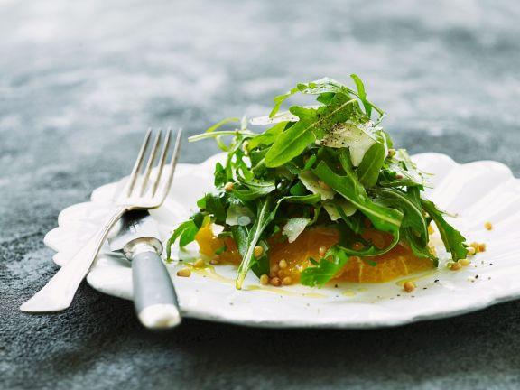 Rucola-Orangen-Salat