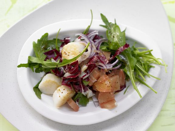 Rucola-Radicchio-Salat