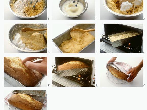 Rührkuchen zubereiten