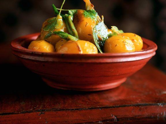 Safrankartoffeln