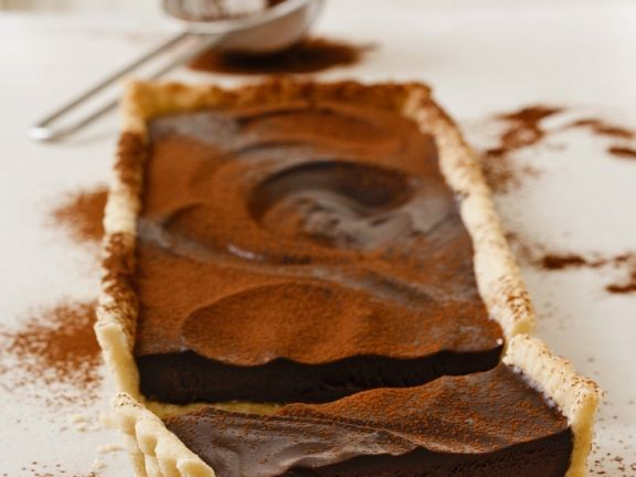 Saftige Schokoladentarte mit Kardamom
