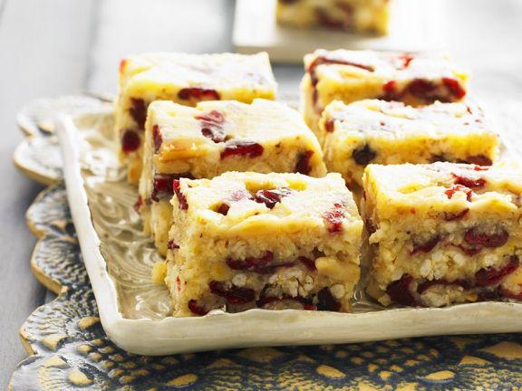 Saftiger Nuss Cranberry Kuchen Rezept Eat Smarter