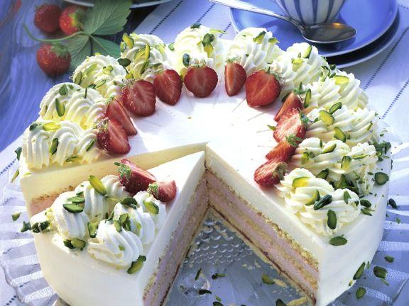 Sahne Erdbeer Torte Rezept Eat Smarter