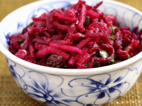 Salat aus Roter Bete